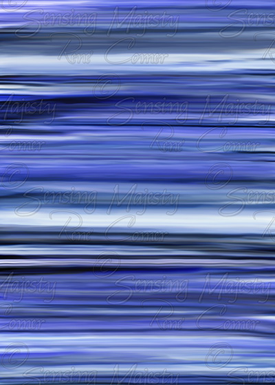Blue Stripes, Photo Art, Various Sizes Available